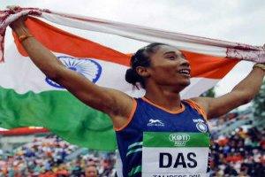 Hima Das won the women's 200m gold in the Poznan Athletics Grand Prix in Poland