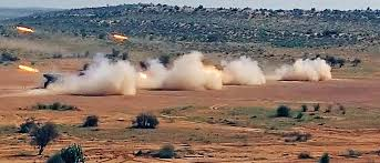 Indian Army conducts an exercise 'Sindhu Sudarshan' in Rajasthan