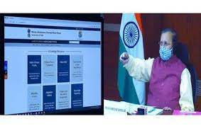 Prakash Javadeker launched India Climate Change Knowledge Portal