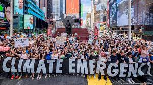 What is a climate emergency?