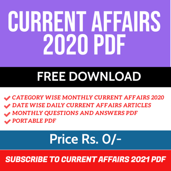 current affairs 2020 pdf plan
