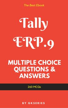 tally erp9 theory multiple choice questions answers