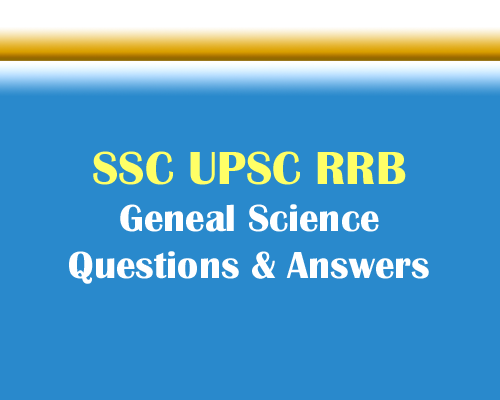 Chemistry - General Science Multiple Choice Questions and