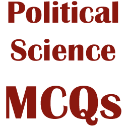Chapter-wise Political Science Multiple Choice Questions and