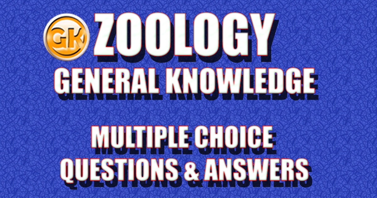 zoology multiple choice questions mcqs and answers zoology