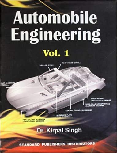 automobile engineering book