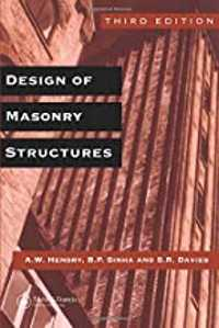 design of masonry structures book