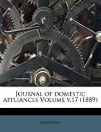 domestic appliance book