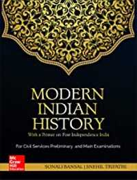 modern Indian history book