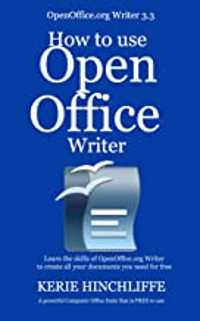 open office writer book