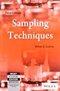 sampling techniques book