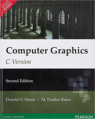 2d transformation in computer graphics book