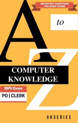 computer book for competitive exams