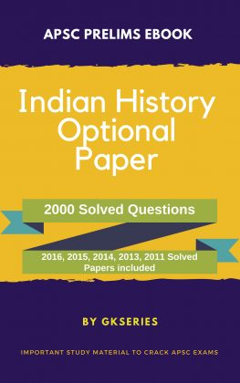 apsc prelims indian history optional subject ebook