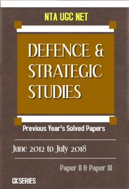 defence and strategic studies nta ugc net ebook