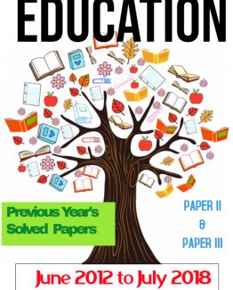 nta ugc net education previous years solved papers