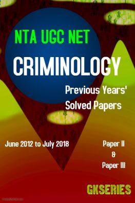 criminology ugc net e-book