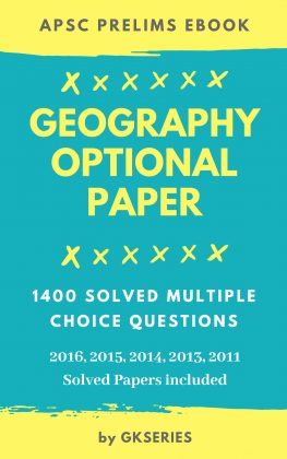 apsc geography optional ebook for prelims